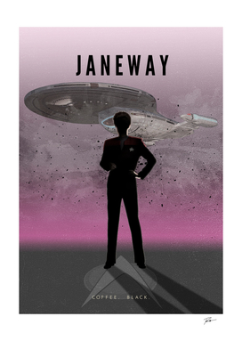 Captain Janeway from Voyager
