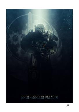 Fallout Brotherhood of Steel Paladin