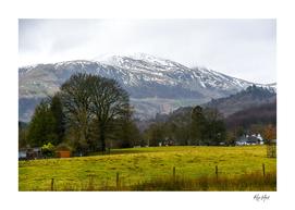 Mountain view from Callander Scotland