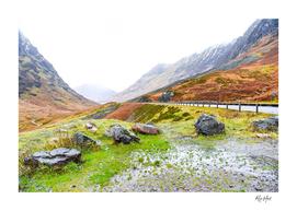 Glen Coe Scotland Highland United Kingdom