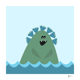 Cute Sea Monster