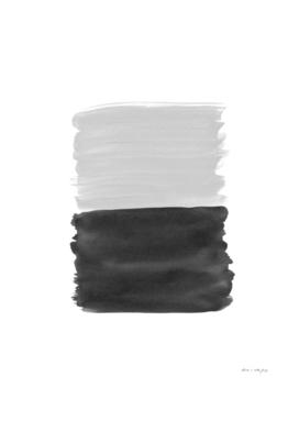 Gray Black Abstract Minimalism #1 #minimal #ink #decor #art