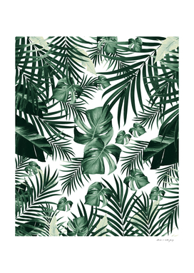 Tropical Jungle Leaves Pattern #4 (2020 Edition) #tropical