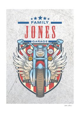 Jones Family Garage Motor