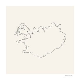 Iceland Outlines
