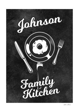 Johnson Family Kitchen Egg