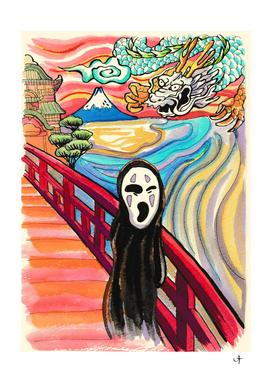 The Scream spirited away