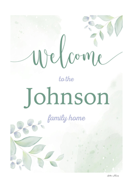 Welcome to the Johnson Family