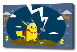 God of Thunder Pikachu