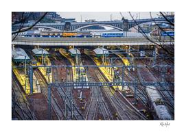 Edinburgh rail tracks