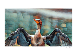 The Unique Cormorant.