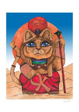 Sekhmet Lionness Maneki Neko