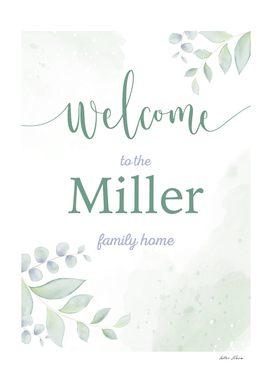Welcome to the Miller Family