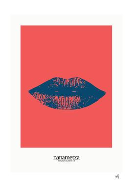 Bleu lips