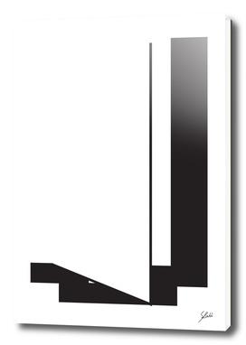 Typography letter J