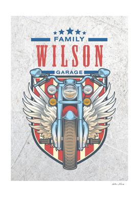 Wilson Family Garage Motor