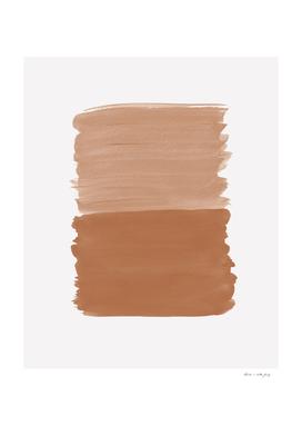 Brown Sugar Abstract Minimalism #1 #minimal #ink #decor #art