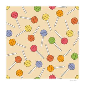 Happy Lollipops Sugar Candy