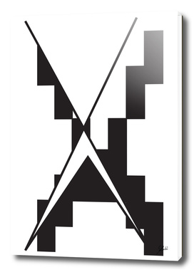 Typography letter X