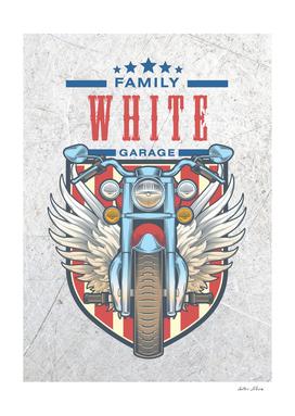 White Family Garage Motor