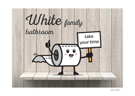 White Family Bathroom