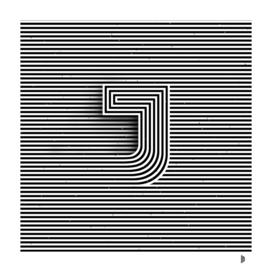 "Illusive letter ""J"""