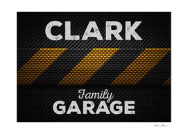 Clark Family Garage Dark