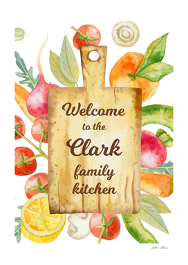 Welcome to the Clark Family Kitchen