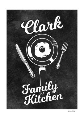 Clark Family Kitchen Egg