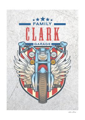 Clark Family Garage Motor
