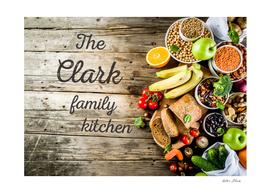 The Clark Family Kitchen