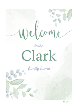 Welcome to the Clark Family