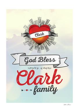 God Bless Clark Family Heart