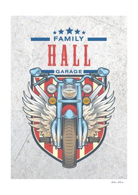 Hall Family Garage Motor