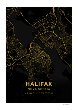 Halifax City Map