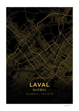 Laval City Map