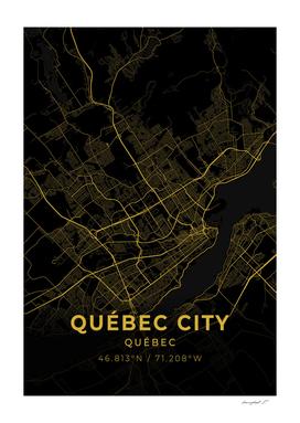 Québec City Map