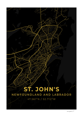 St. John's City Map