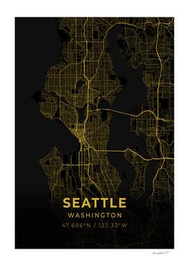 Seattle City Map