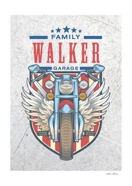 Walker Family Garage Motor