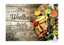 The Walker Family Kitchen