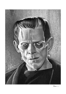 Frankenstein Portrait