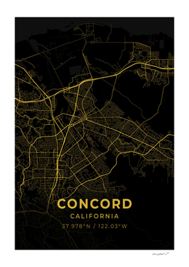 Concord City Map