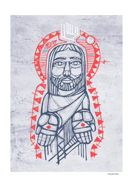 Jesus Christ in indigenous style