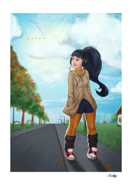 October Walk