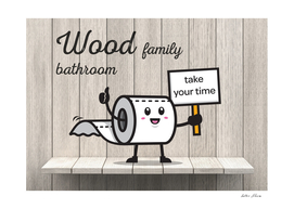 Wood Family Bathroom