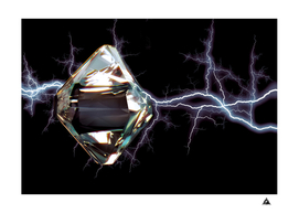 daimond in lightning