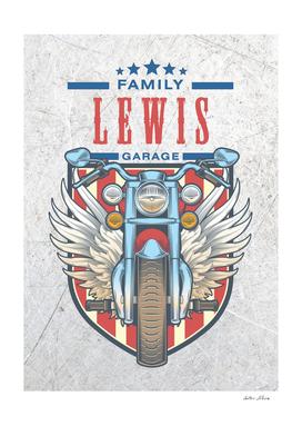 Lewis Family Garage Motor
