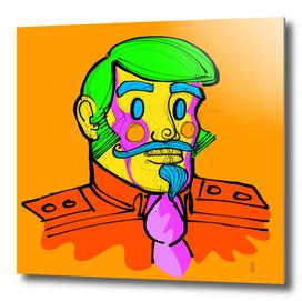Captain Vector, conceptual character.