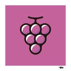 Grape : Minimalistic icon series